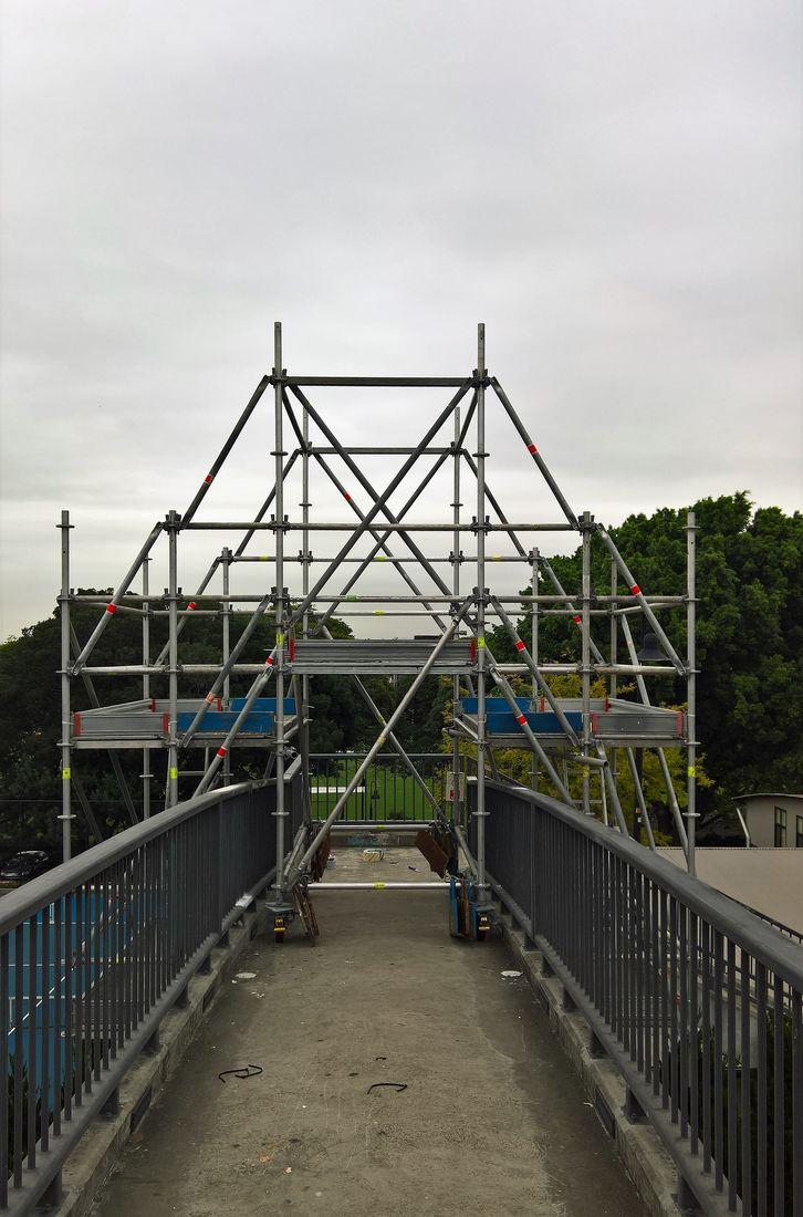 Mobile Suspended Scaffolding Bridge Maintenance Repairs Sydney