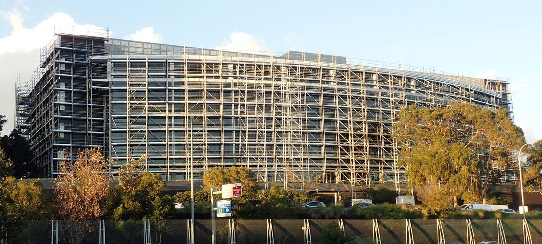 Scaffolding For Cladding Replacement