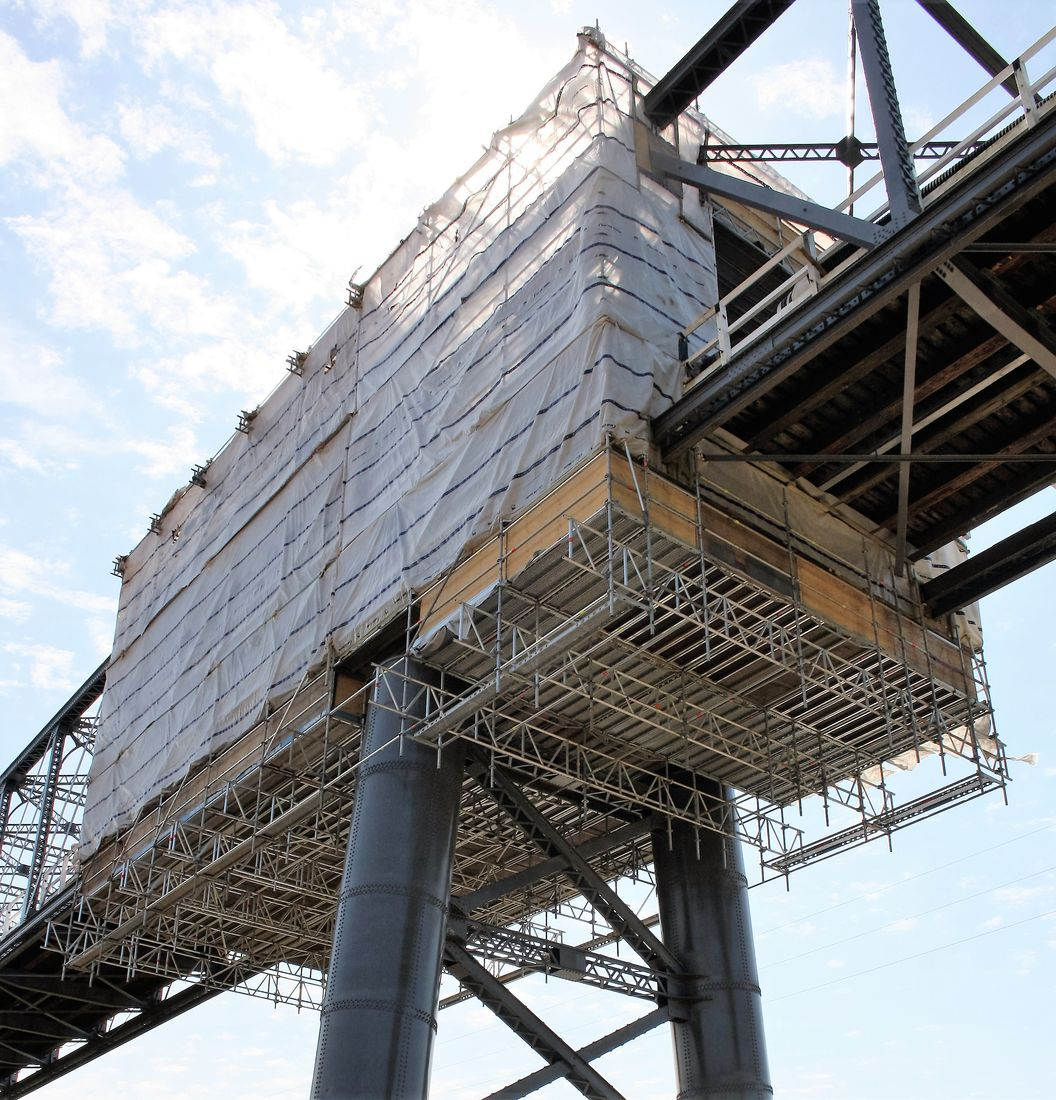 bridge encapsulation scaffolding sydney